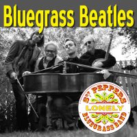 Bluegrass Beatles - Sgt-greyscale. Pepper