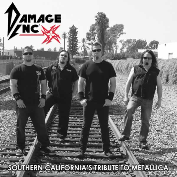DAMAGE INC Southern California's Tribute to Metallica