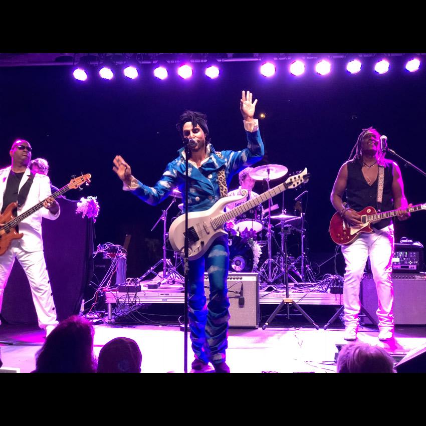 Prince Tribute Show - Marshall Charloff & Purple Xperience