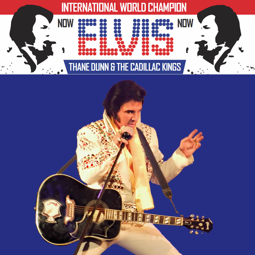 Elvis on Tour with Thane Dunn